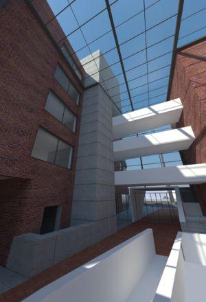 Plac Synagogi w Katowicach - projekt koncepcyjny