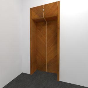 Projekt drzwi wewnętrznych w budynku wielorodzinnym w Katowicach