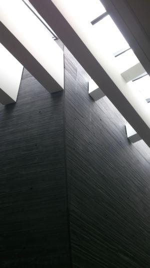 Projekt ślusarki aluminiowej w NOSPR w Katowicach - świetlik dachowy