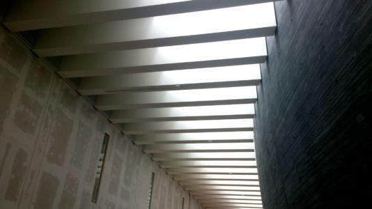 Projekt ślusarki aluminiowej w NOSPR w Katowicach (świetlik dachowy)